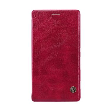 NILLKIN QIN Leather Case Red Casing ...
