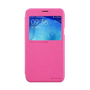 Nillkin Sparkle Leather Pink Casing for Samsung Galaxy J5