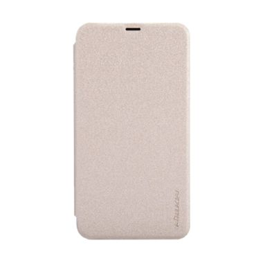 Nillkin Sparkle Leather Gold Casing for Nokia Lumia 630