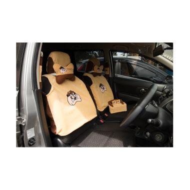 Galva Tazmania Coklat Set Aksesoris Interior Mobil [5 In 1]