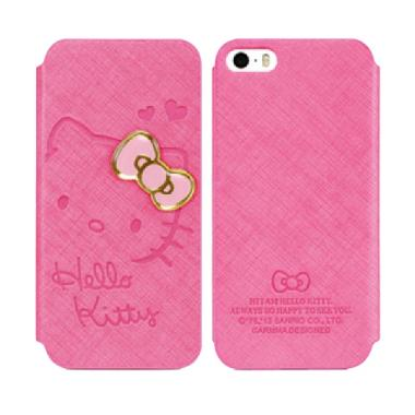 Garmma Wallet Sweetie Series Casing for iPhone 5S - Pink
