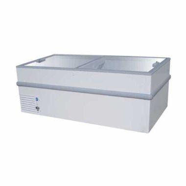 GEA/GETRA/RSA Sliding Curve Glass STELLA-200 Putih Freezer