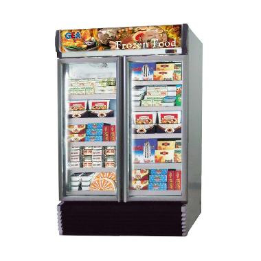 Gea Expo-1000AL-CN Up Right Freezer - Silver