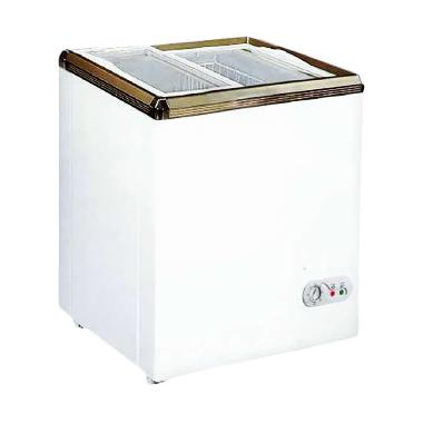 RSA XS-110 Sliding Chest Freezer 100 Liter Putih