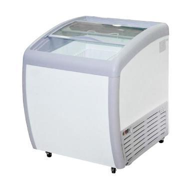 Gea Sd-160 By Sliding Curve Glass Freezer