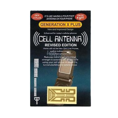 Genex Gen-X Plus Stiker Penguat Sinyal JOOOSSS