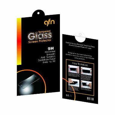 GFN Tempered Glass Screen Protector for Lenovo A6000 [0.3mm/ 2.5D Round/