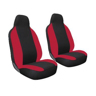 GL Ferari Sarung Jok Mobil for Toyota Calya - Black Red
