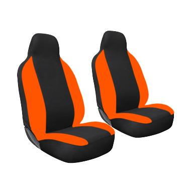 GL Mbtech Sarung Jok Mobil untuk Toyota Calya - Black Orange