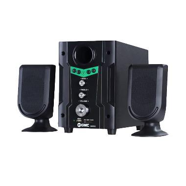 GMC 888D2 Multimedia Speaker Aktif - Green