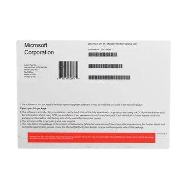 Microsoft Windows 7 Professional CD Software [64 bit]
