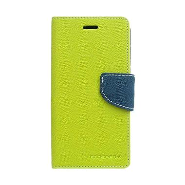 Mercury Goospery Fancy Diary Casing ...  Redmi Note 3 - Lime Navy