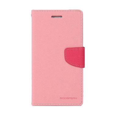 Mercury Goospery Fancy Diary Casing ... dmi Note 3 - Pink Hotpink