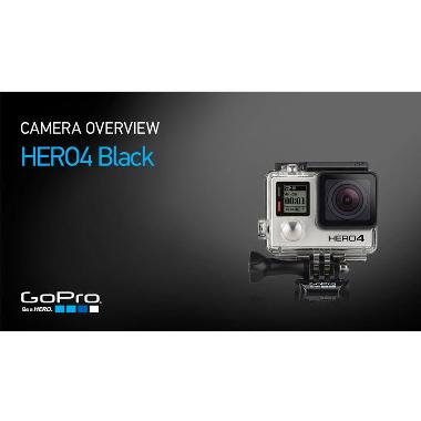 GoPro Hero 4 Paket Super Lengkap Action Camera - Black