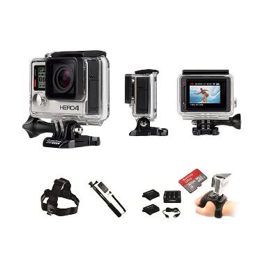 GoPro HERO4 Kimkom Store Paket Motorsport Action Camera