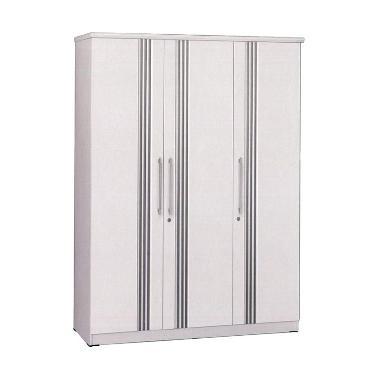 Graver Furniture LP 2597 S Lemari Pakaian 3 Pintu