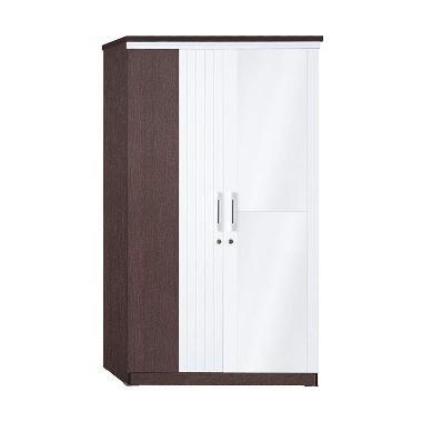 Graver Furniture Lemari Pakaian [2 Pintu]
