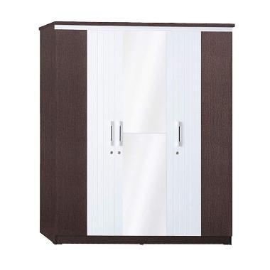 Graver Furniture LP 2693 Lemari Pakaian [3 Pintu]