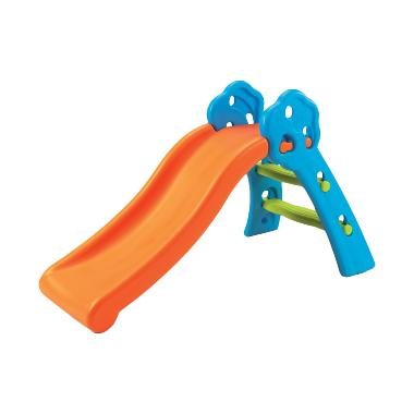 Grow N Up Qwikfold Fun Slide Mainan Anak - Blue Orange