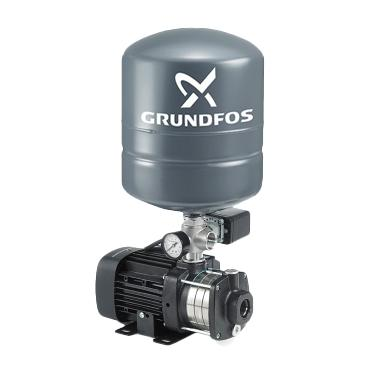 harga Grundfos CM 3-3 PT Complete Set Pompa Dorong with Pressure Tank and Automatic [Stainless Steel] Blibli.com