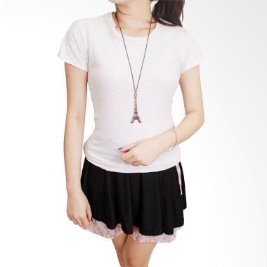 Gudang Fashion FW 02 Kaos Polos Wan ...  Combed S20 White T-shirt