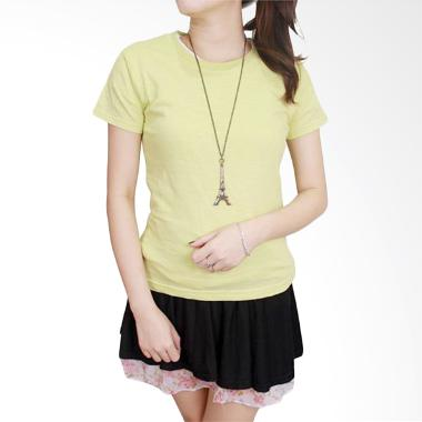 Gudang Fashion FW 07 Kaos Perempuan ...  Combed S20 Green T-shirt