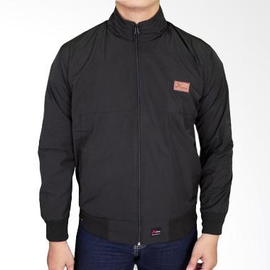 Gudang Fashion JAK 2209 Men Parachute Jacket Parasut - Black