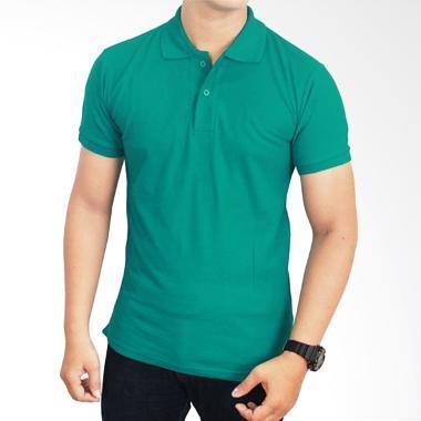 Gudang Fashion Kaos Polos Kerah POL 72 Tosca Tua Atasan Pria