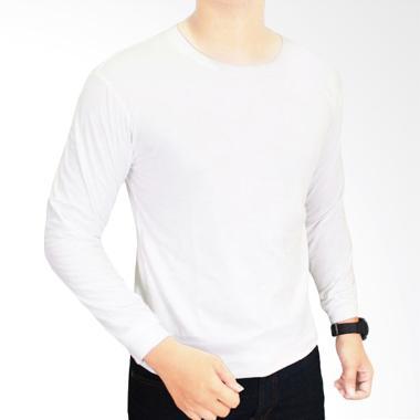 Jual Kaos Polos Panjang Putih Online Harga Menarik Blibli Gudang