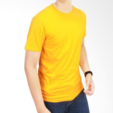 Gudang Fashion Kaos Polos POL 06 O- ... d 20S Kuning Emas T-shirt