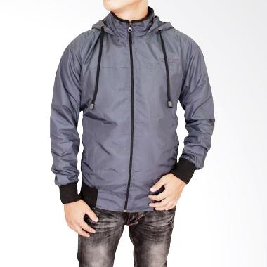 Gudang Fashion JAK 2120 Fashion Male Jaket Pria - Grey