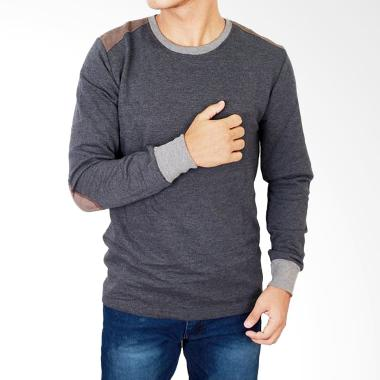 Gudang Fashion PAN 709 Terry Kaos L ...  Laki-Laki T-Shirt - Navy
