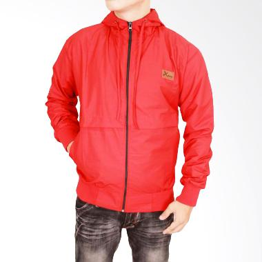 Gudang Fashion Parasut JAK 2114 Jaket Pria - Red