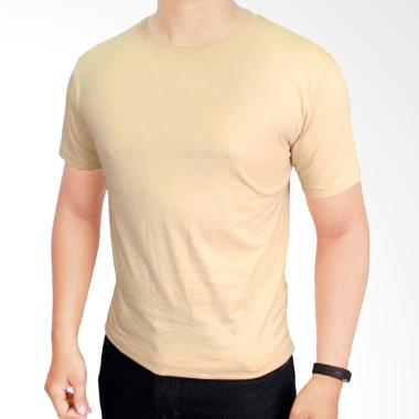 Gudang Fashion POL 21 Kaos Polos O- ...  Combed 20S Cream T-shirt