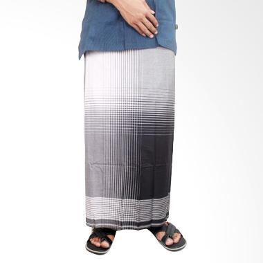 Gudang Fashion SRG 86 Muslim Katun Sarung - Black White