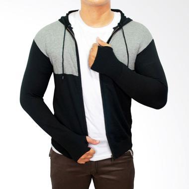 Gudang Fashion SWE 563 Ariel Noah Rajut Sweater Pria - Grey c5c84bf285