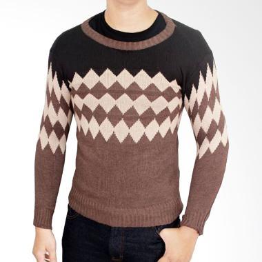 Gudang Fashion SWE 644 Sweater Rajutan Pria ...