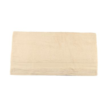 Bleu Duvin Off White Cream Hand Towel Handuk [80 x 45 cm]