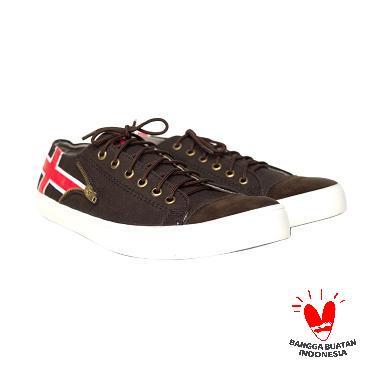 harga Handmade Blackmaster Flags Sneaker - Brown Blibli.com