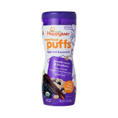 harga Happy Baby Purple Carrot Puff Organic (Purple Carrot & Blueberry) Blibli.com