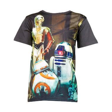 Star Wars Robo T-shirt Grey Atasan Anak Laki-Laki