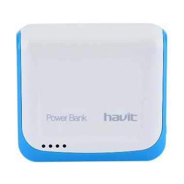 jual havit hv pb644 putih biru powerbank 4400 mah online harga kualitas terjamin. Black Bedroom Furniture Sets. Home Design Ideas