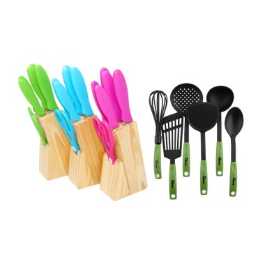 Oxone OX-961 Knife Set + OX-953 Spatula Nylon