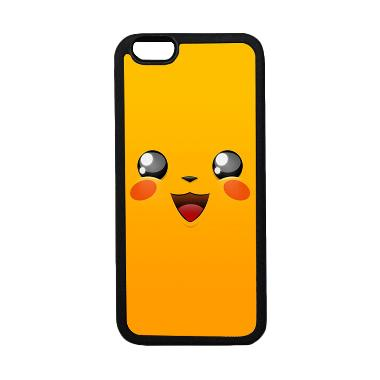 HeavenCase Motif Pokemon Go 9 Softc ... ne 6 or iPhone 6s - Hitam