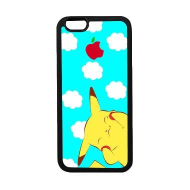 HeavenCase Motif Pokemon Go 10 Soft ... ne 6 or iPhone 6s - Hitam