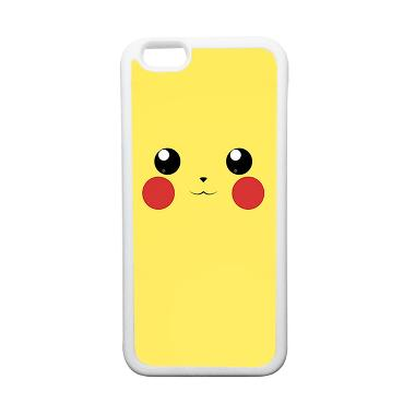 HeavenCase Motif Pokemon Go 03 Soft ... ne 6 or iPhone 6s - Putih