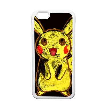 HeavenCase Motif Pokemon Go 07 Soft ... ne 6 or iPhone 6s - Putih