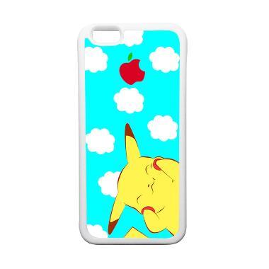 HeavenCase Motif Pokemon Go 10 Soft ... ne 6 or iPhone 6s - Putih