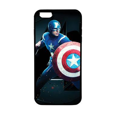 HEAVENCASE Case Casing Iphone 6 Plu ... erhero Captain America 17