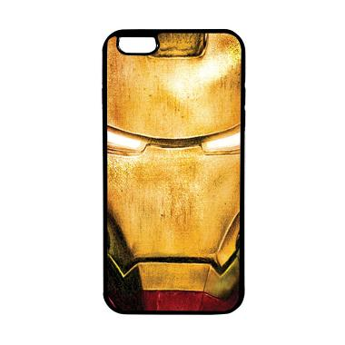 HEAVENCASE Case Casing Iphone 6 Plu ... itam Superhero Ironman 02